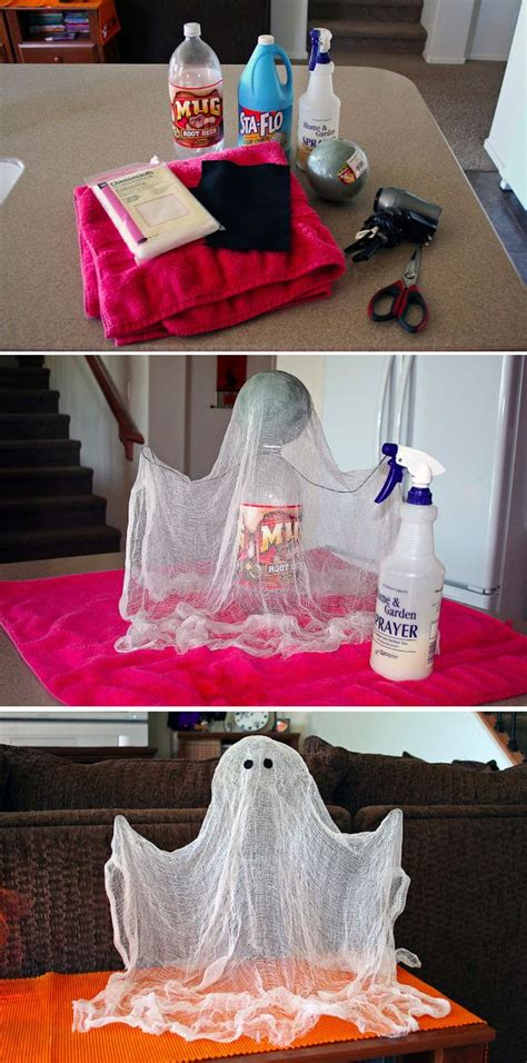 diy ghost decorations 60 best diy decorations for 2017