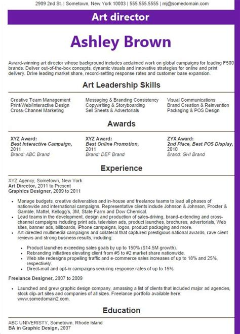 Director Resume 2015 by Director Resume Exles 2016