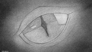 How to draw a Dragon's Eye -Close up! | Drawing ...
