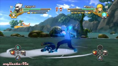 Naruto Ultimate Ninja Storm 3 Anbu Kakashi Vs Jounin