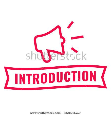Introduction Stock Images, Royaltyfree Images & Vectors