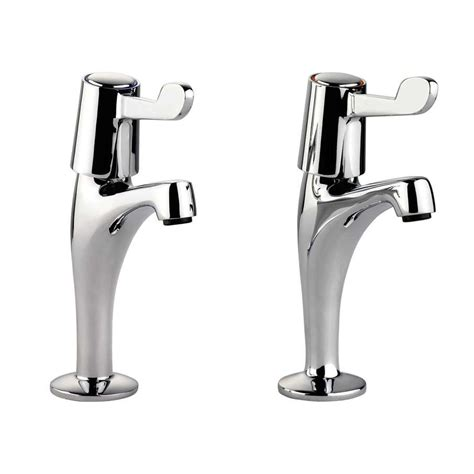 sink and taps kitchen leisure pillar lever tpt1cm lv chrome tap kitchen sinks 5270