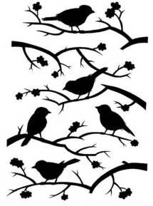 Rocking Chair Stencil stencil ramas y p 225 jaros silhouette printables