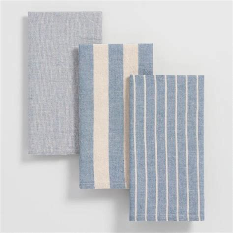 Blue Stripe Kitchen Towels Set Of 3  World Market. Kitchen Countertops That Fit Over Existing. White Kitchen Nook Bench. Kitchen Sink Grease Trap. Vintage Kitchen Tools Utensils. Kitchen Grey Floor. Kitchen Bench Leather. Kitchen Tile Color Combinations. Kitchen Stove Ge