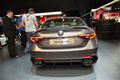 2015 Frankfurt Motor Show Alfa Romeo Giulia Qv, Official