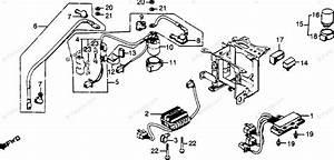 Honda Motorcycle 1979 Oem Parts Diagram For Spark Unit