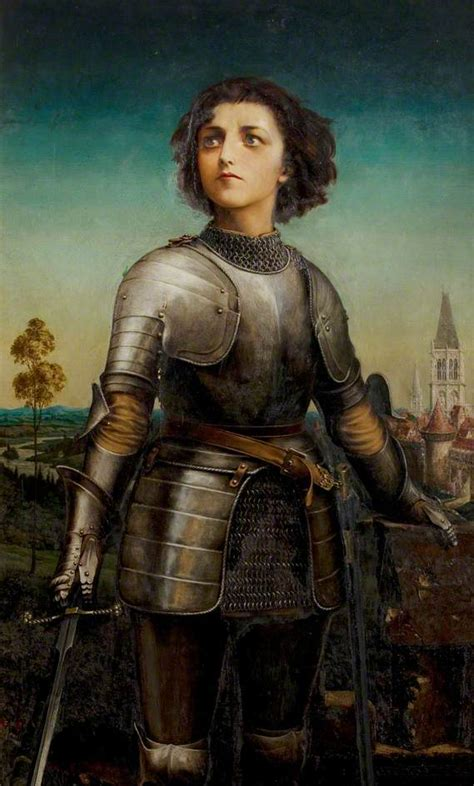 History And Women Joan Of Arc The Maid Of Orleans