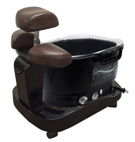 milan portable pedicure spa with footsie