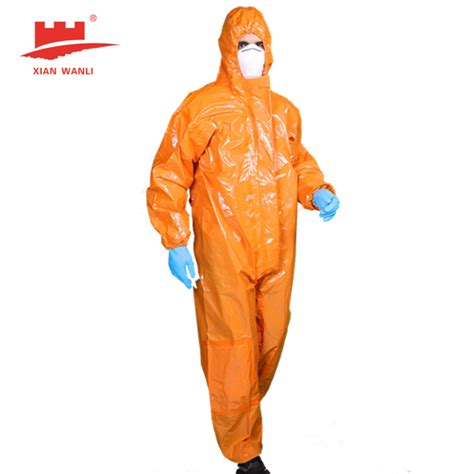 Shijiazhuang shenning medical supplies co., ltd. China Cat. III TYPE 3 and 4 Chemical Liquid Tight Coverall Manufacturers, Suppliers - Factory ...