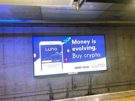 The bitpanda platform is straightforward and easy to use for beginners. Bitcoin ad appeared at one of the most significant train station in South Africa for 100,000 ...
