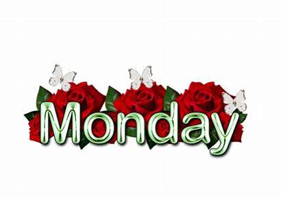 Monday January Positive Thoughts Sunday Days Morning