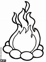 Campfire Coloring Pages Printable Camping Getcoloringpages Around Mickey Sitting Disney Mouse sketch template