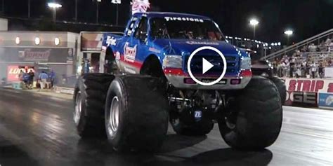 bigfoot monster truck history epic moment in drag racing history bigfoot monster truck