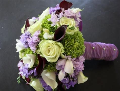white green purple wedding bouquet picturepng  comments