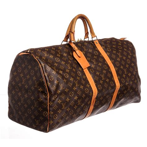 louis vuitton monogram keepall  duffle bag vintage louis vuitton touch  modern