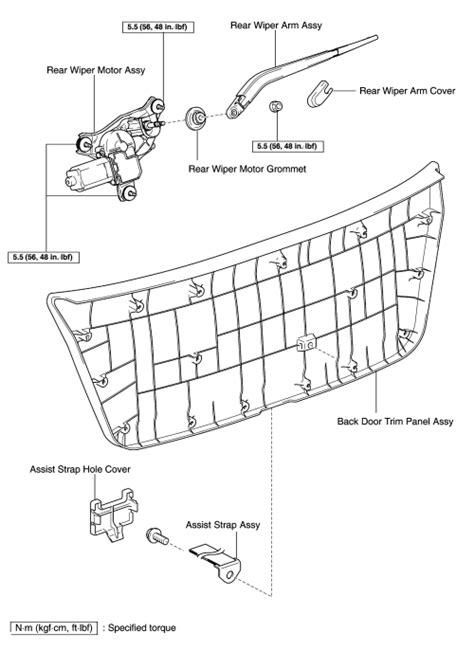 motor repair manual 2010 lexus is f windshield wipe control repair guides