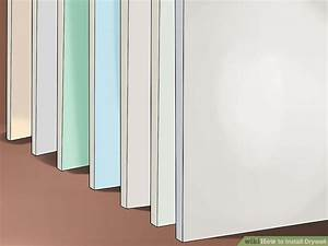 how to install drywall with pictures wikihow With bathroom drywall code