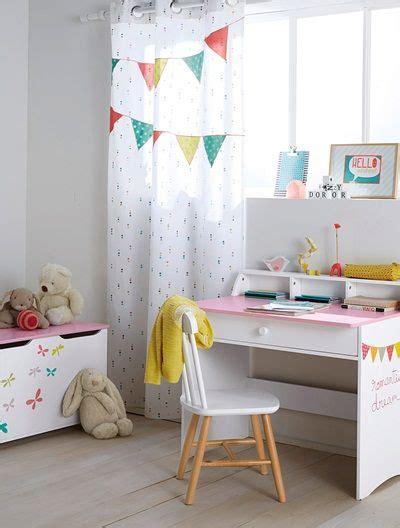 Kinderzimmer Vorhänge Mädchen by Kinderzimmer Vorhang Mit Bunten Wimpeln Wei 223 Bedruckt