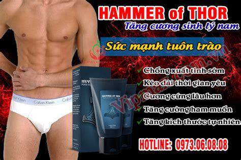 thuốc hammer of thor điều trị xuất tinh sớm