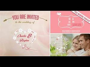 free video wedding invitation save the date after With the wedding invitation watch online free