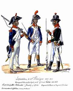 Expedition to St. Domingue. Army Coloniale of Toussaint ...
