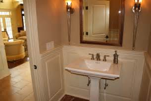 bathroom ideas with wainscoting custom wainscoting bathroom picture ideas