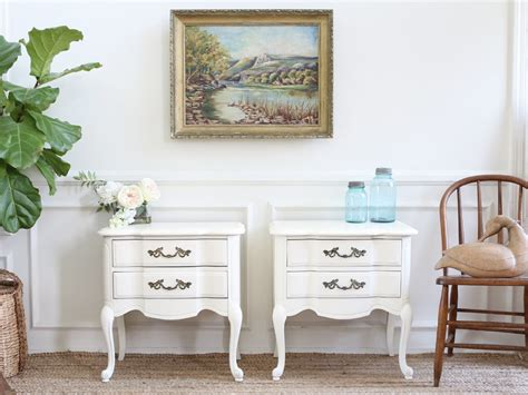 shabby chic brands name brand drew shabby chic french provincial vintage nightstands se shopgoldenpineapple