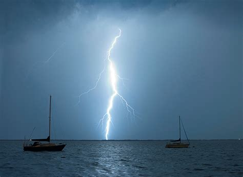 What Happens When Lightning Strikes A Boat by What Happens When A Yacht Is Struck By Lightning