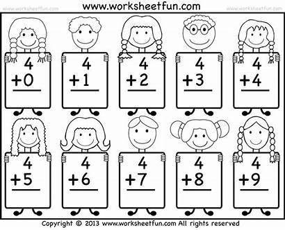 Worksheets Kindergarten Printable Math Money Addition Printablee