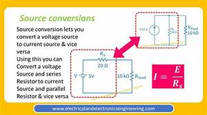 voltage current source conversion electrical and
