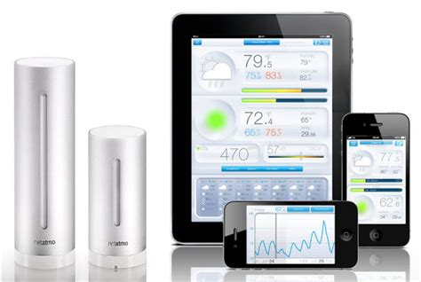 android station review netatmo weather station the register