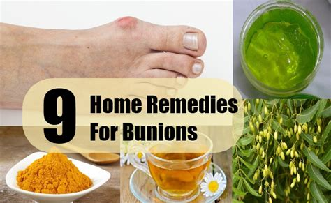 9 Bunions Home Remedies Natural Treatments & Cures
