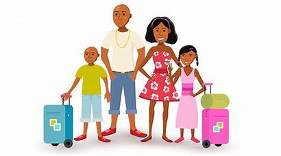 Clipart Getting Travel Ready Trip Vacations Builders