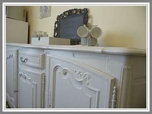 Meuble Repeint En Gris Perle : bahut patine gris perle 3 photo de meubles et patine ~ Dailycaller-alerts.com Idées de Décoration