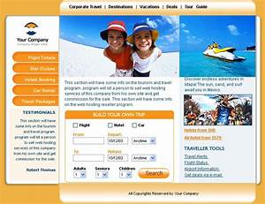 php website themes for travel agency With php homepage template