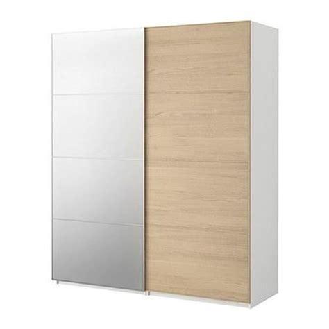 pax armoire avec portes coulissantes pax malm placage