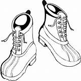 Boots Coloring Pages Winter Hiking Shoes Drawing Work Shoe Cool Children Crafts Printable Kidsdrawing Craft Clipartmag sketch template