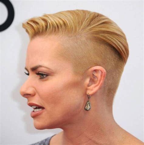 shaved sides haircut womens bentalasalon com