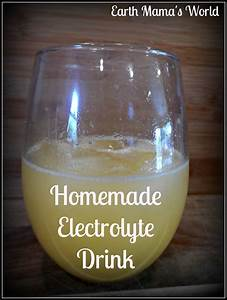 Homemade Electrolyte Drink For Kids   U0026 You