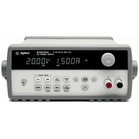 Low Voltage Power Supply Keithley Keysight Buy Rent