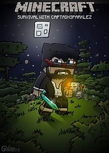 Captain Sparklez Fan Art 2 by FinsGraphics on DeviantArt