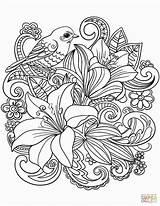 Sketsa Lukisan Gambar Flowers sketch template
