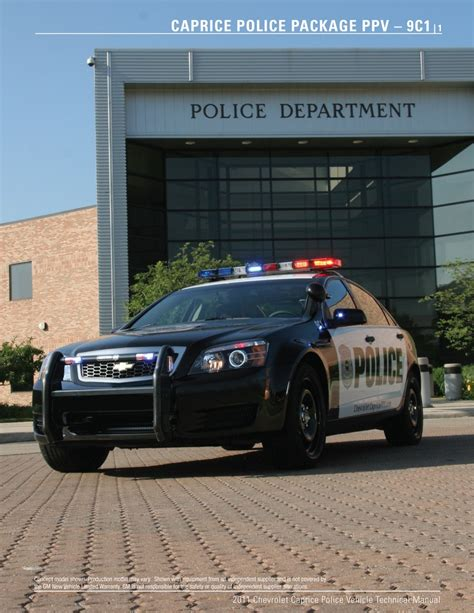 carscoop  chevy caprice ppv  stealthy detective