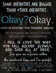 All Of The Tfio... Tfios Plane Quotes