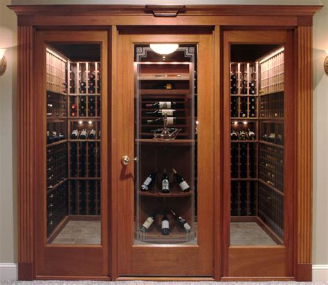 vigilant wine doors classic wine cellar doors wine