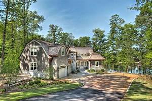 Charming, Shingle, Style, Cottage, On, Lake, Keowee, South, Carolina