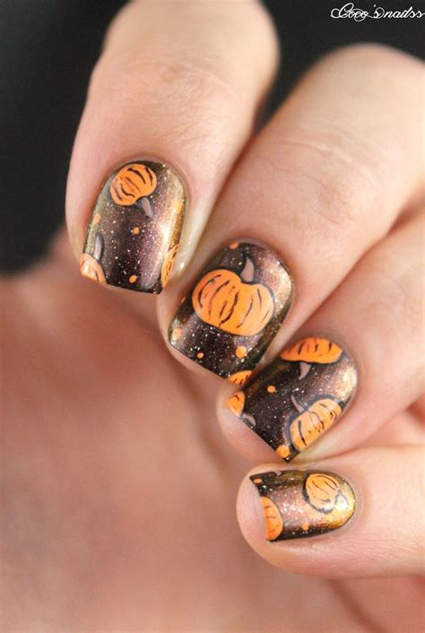 nail art fall autumn  halloween images