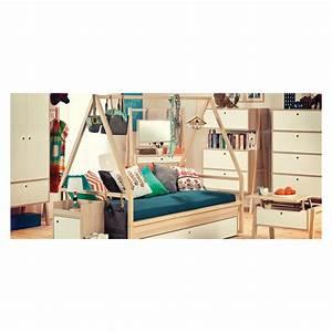 Lit Tipi Enfant : tipi cabane enfant pour lit 90x200 spot de la marque vox ~ Teatrodelosmanantiales.com Idées de Décoration