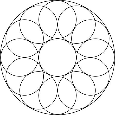 printable circle shape patterns activity shelter