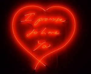 model s own Neon Signs by Tracey Emin